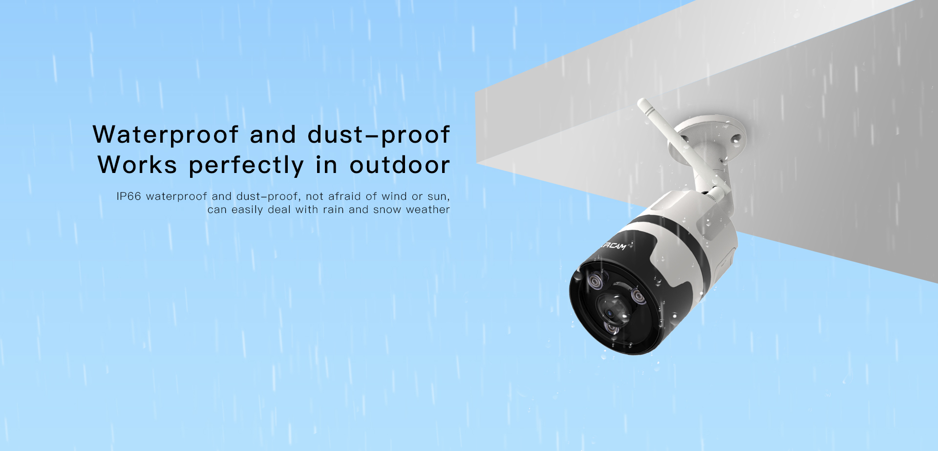 Outdoor Panoramic IP Camera