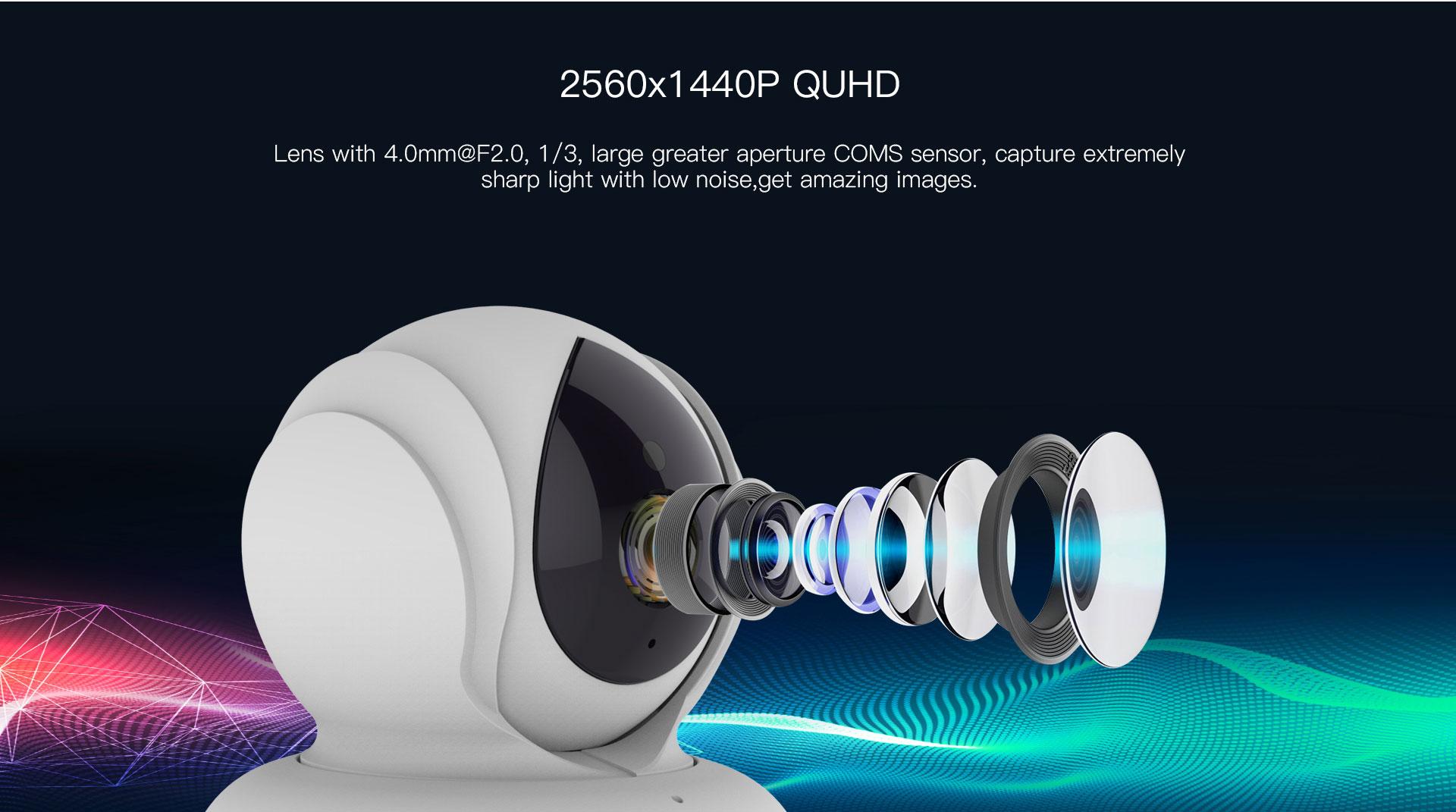 1440p network camera