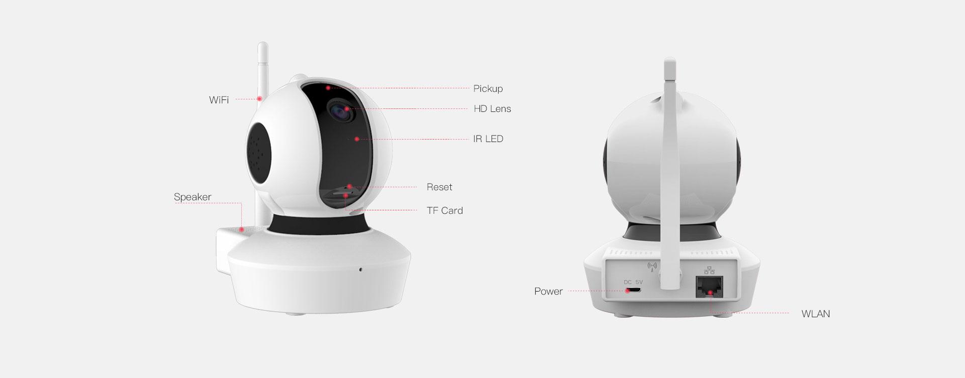 PT Indoor Mini IP Camera