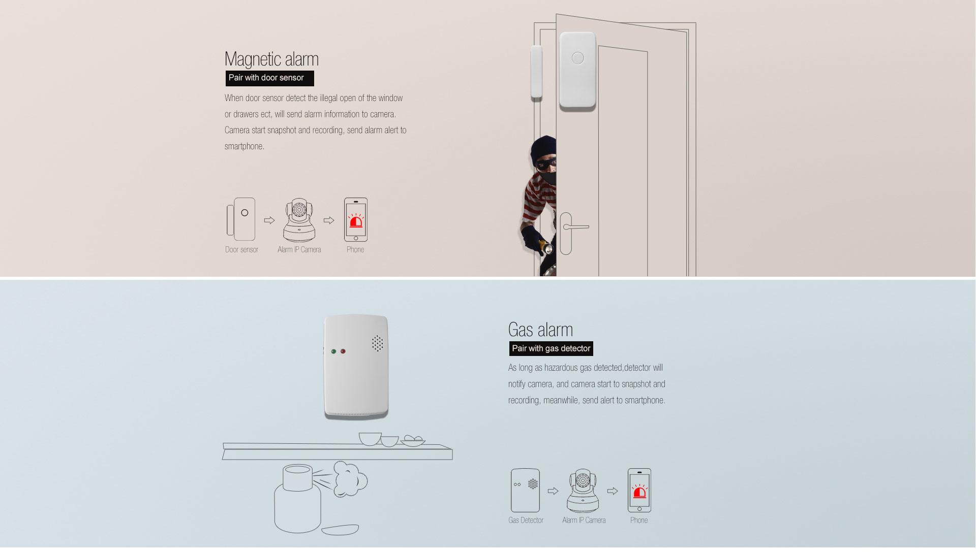 Alarm IP Camera