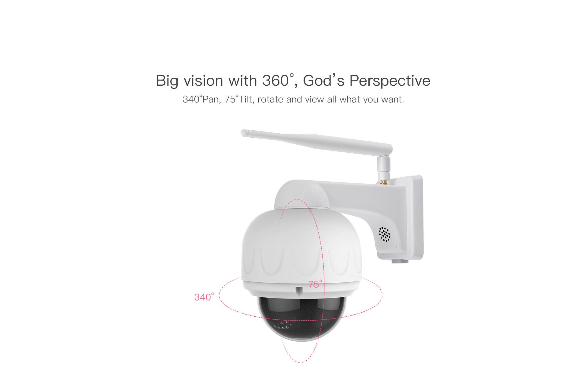 Audio Reception IP Camera