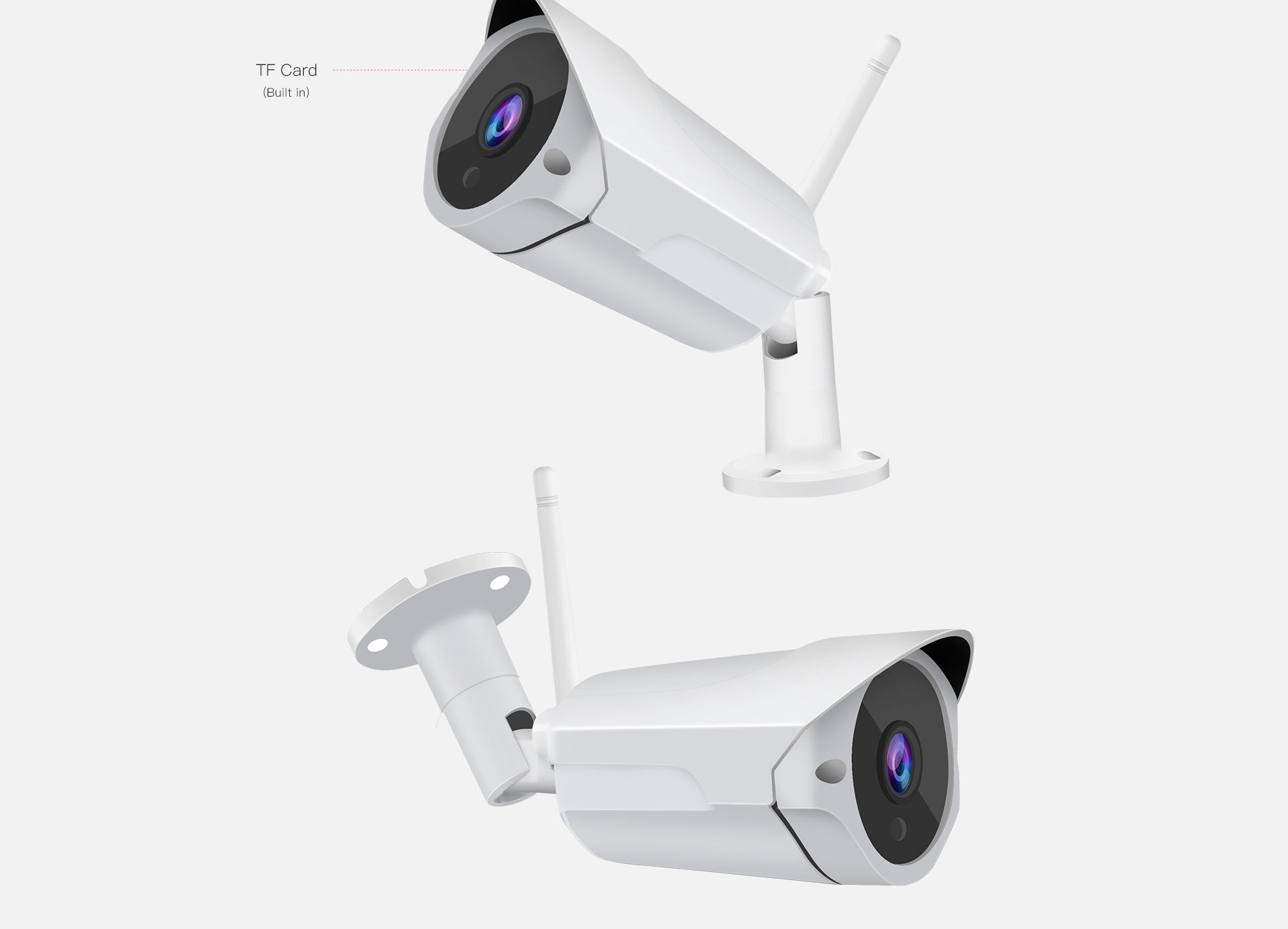 waterproof outdoor Security camera