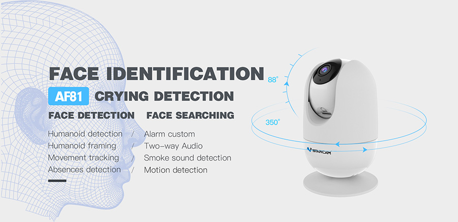 AI intelligent network camera