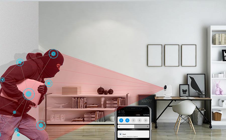 AI intelligent network camera