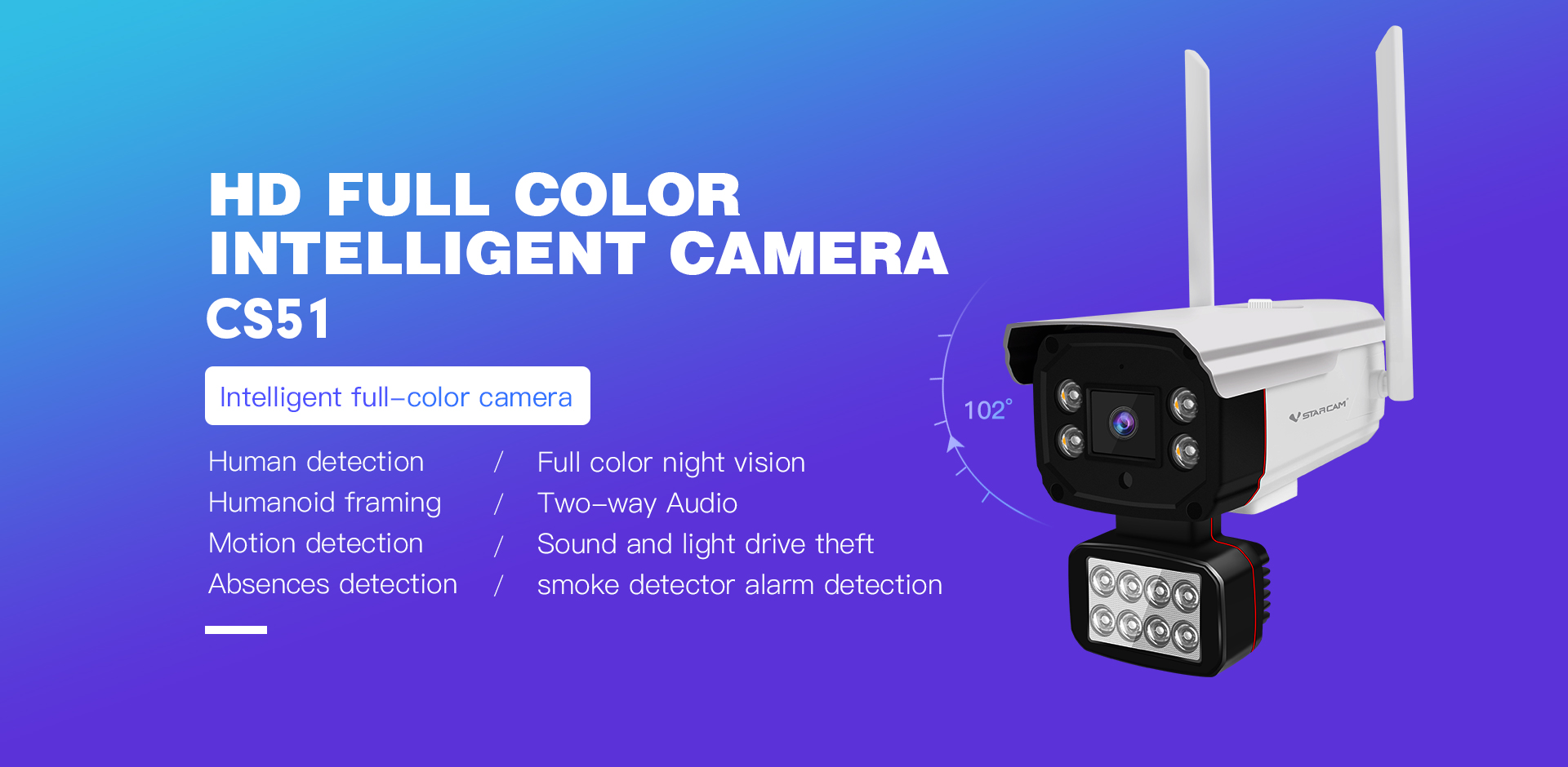 full color ip camera