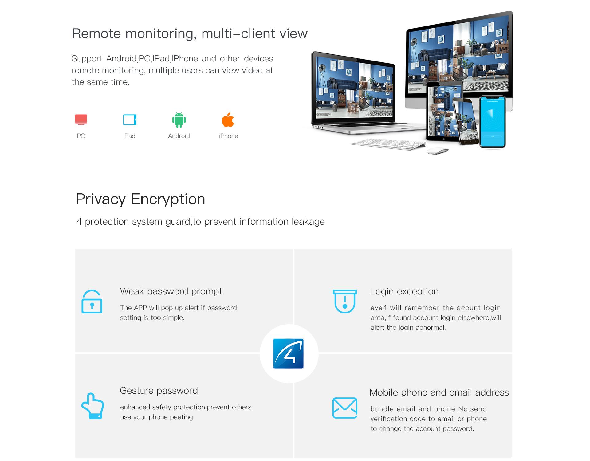 pt outdoor Security camera
