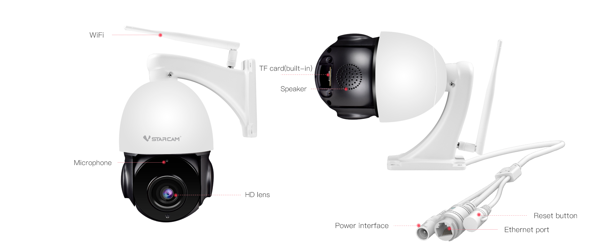 smart ptz outdoor camera